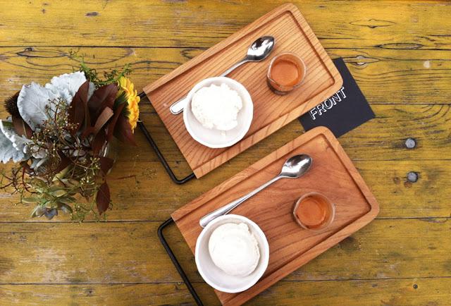 Affogato - Front Coffee, Potrero Hill, San Francisco, Californie, USA