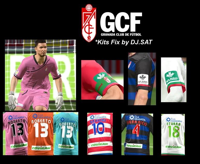 PES 2014 Granada C.F GDB Kits by DJ.SAT