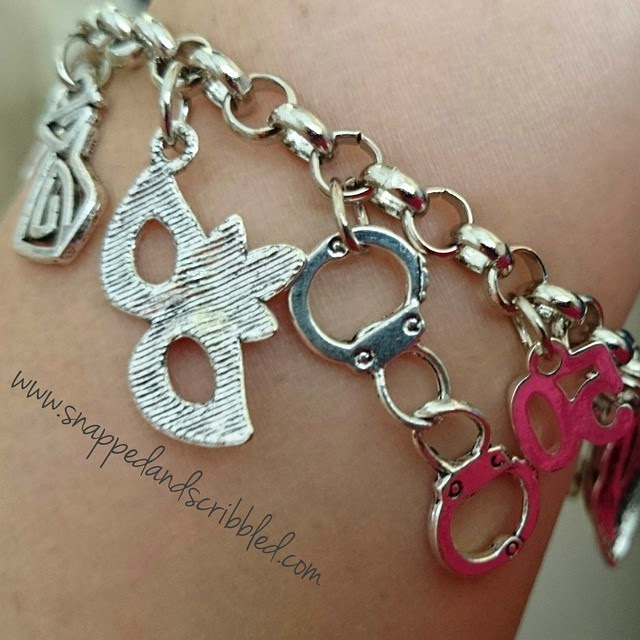 Must Have: Fifty Shades of Grey Charm Bracelet