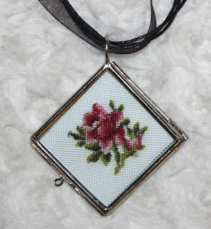 Tea Rose Pendant