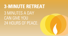3 Minute a Day Retreat