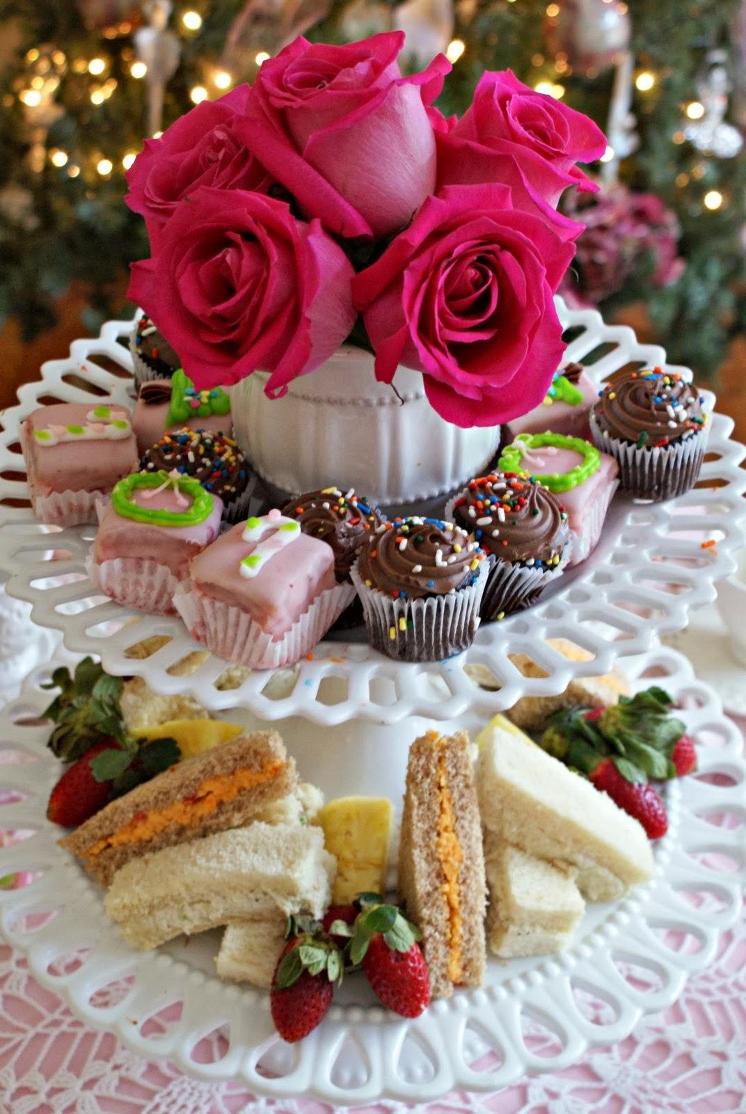 Christmas Tea Party Ideas Part - 48: Christmas Candy Tea