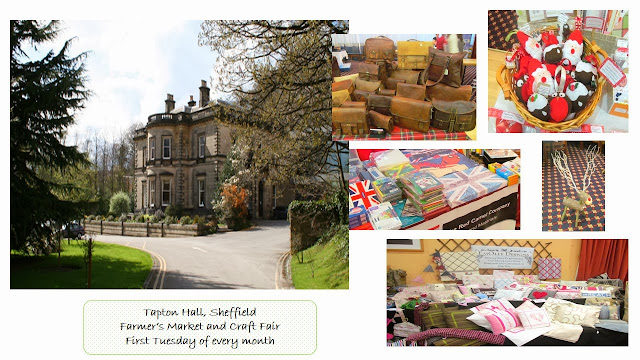 Tapton Hall Farmers market and craft fair