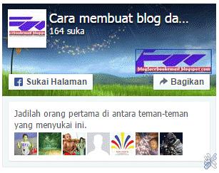 tampilan fanspage facebook terbaru