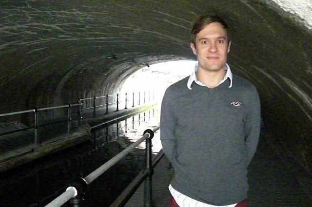 canal tunnel birmingham england