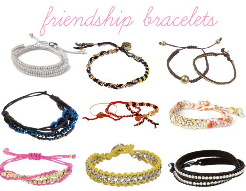friendship braclets