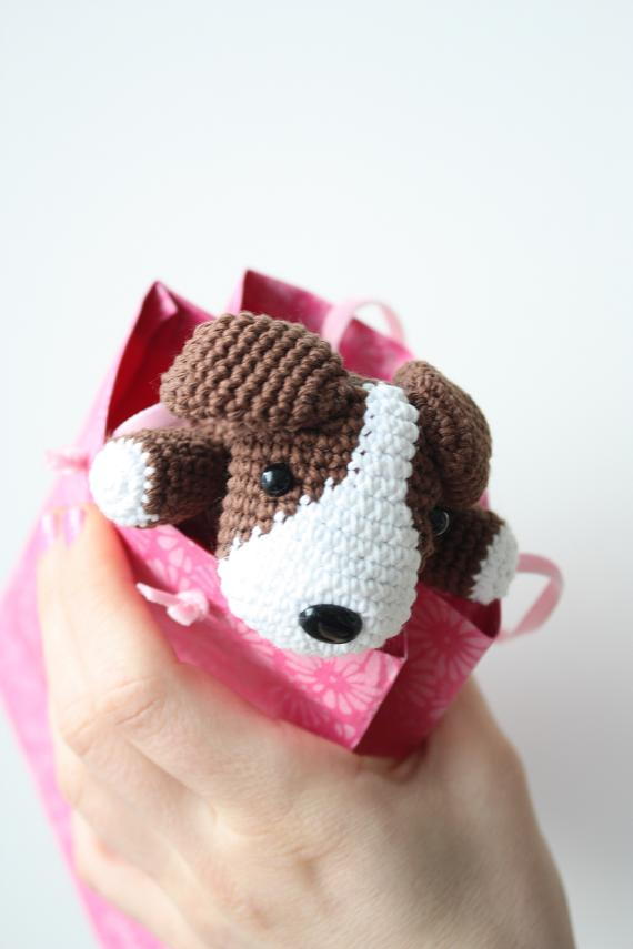 HAPPYAMIGURUMI: Amigurumi Dog Pattern in process