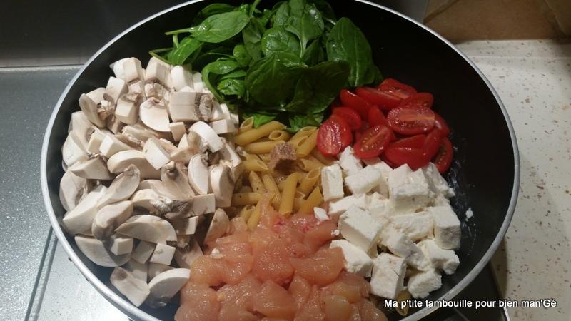 Exceptionnel Ma p'tite tambouille pour bien man'Gé: One pot pasta au poulet  QV89