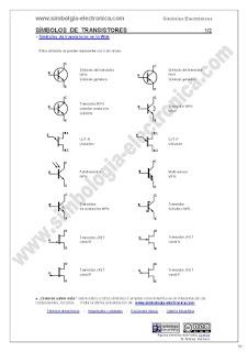 Símbolos de transistores 1/2