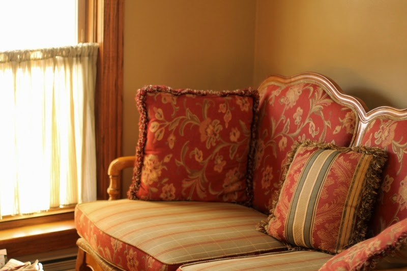 """Guest room """"In The Beginning"""" at Amil's Inn B&B"""