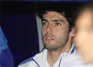 Hard moments for Kaka without playing