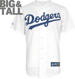Big and Tall MLB Los Angeles Dodgers Big and Tall Jerseys
