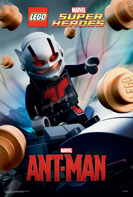 Marvel's Ant-Man LEGO Movie Poster