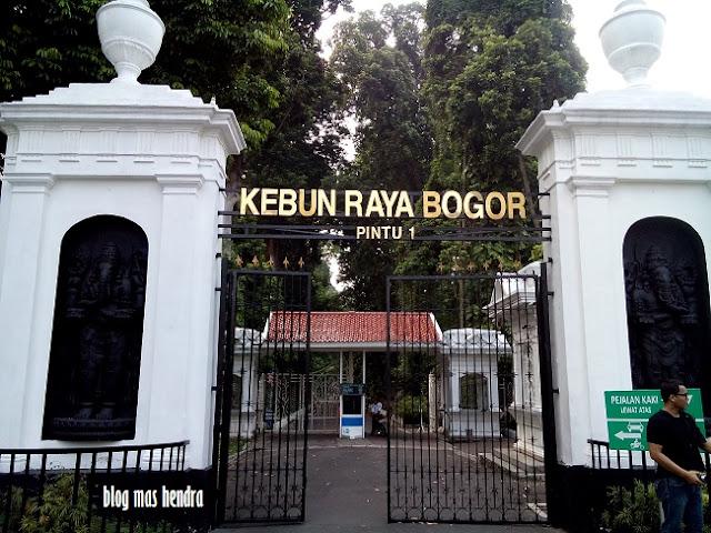Penampakan Pintu Masuk 1 Kebun Raya Bogor - Blog Mas Hendra