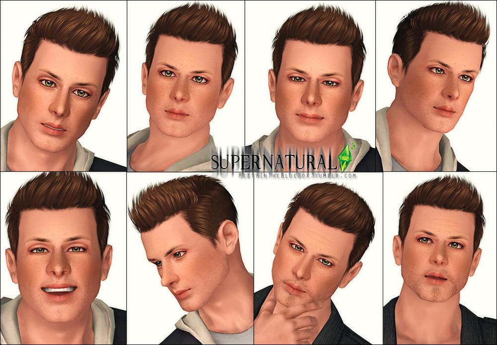 My Sims 3 Blog Sam Dean Amp Castiel Supernatural Sims By