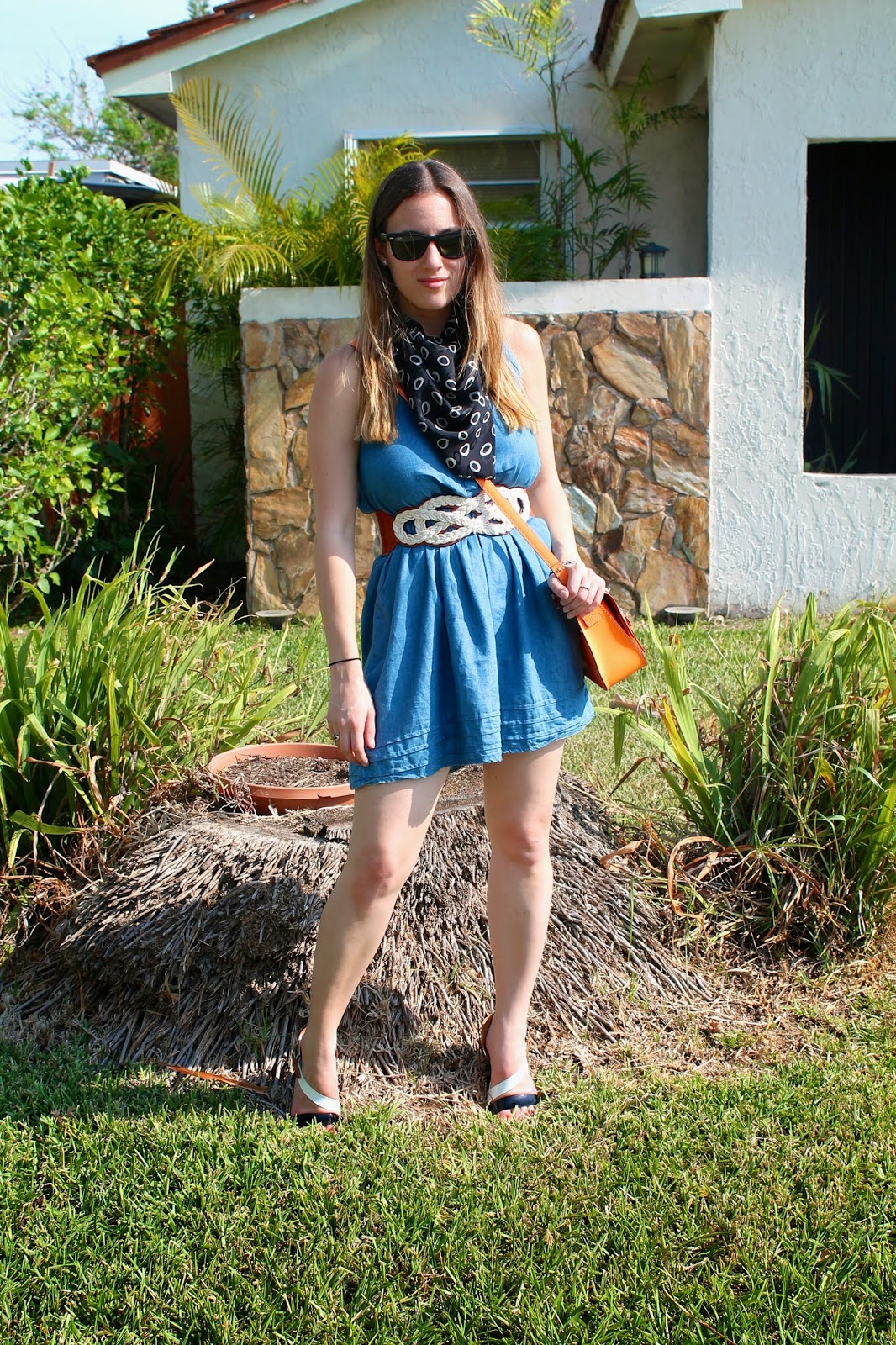 Anthropologie, Kate Spade, Loehmann's, Kenneth Cole, Ray-Ban, vintage, prep, southern, Miami, Palm Beach, fashion blog, what I wore, blogger's style, Miami fashion, summer fashion