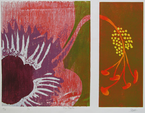 corex and woodcut by mamta yeram