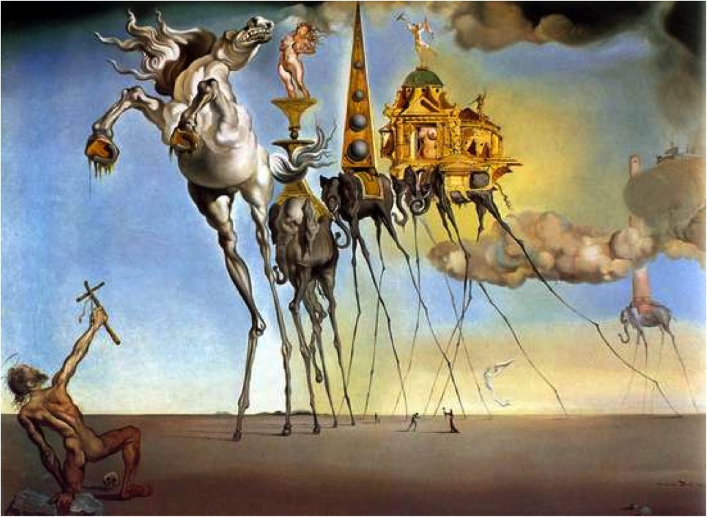 Salvador dali the persistence of memory analysis