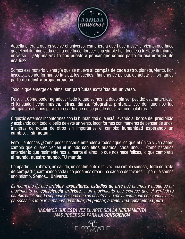 Facebook Somos Universo