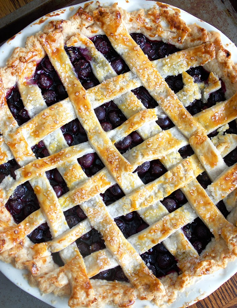 how to make homemade blueberry pie