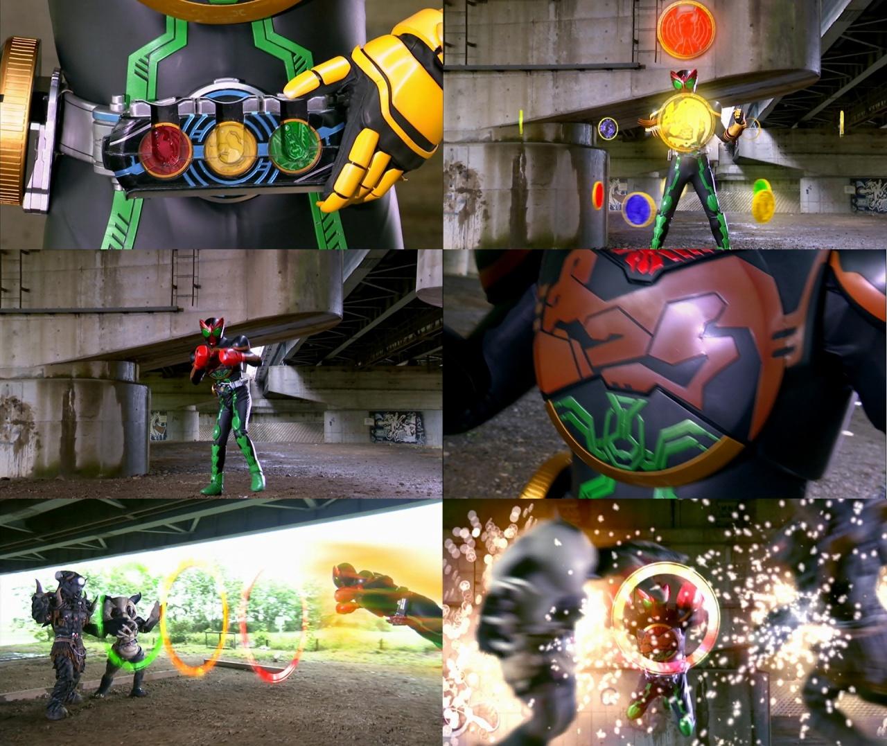 Kamen Rider Ooo Medals