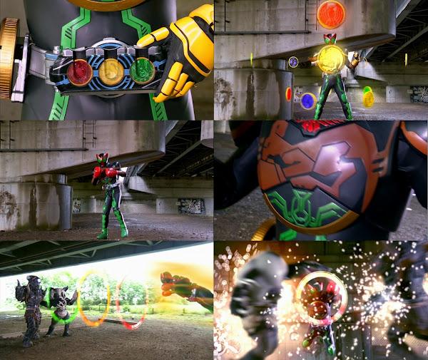 Kamen Rider OOO Kangaroo Medal Henshin!