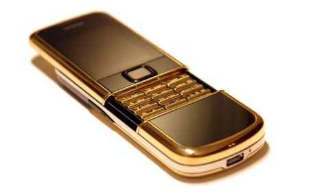 Gold Edition of Nokia 8800 : $2,700