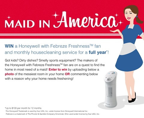 Honeywell Maid In America contest