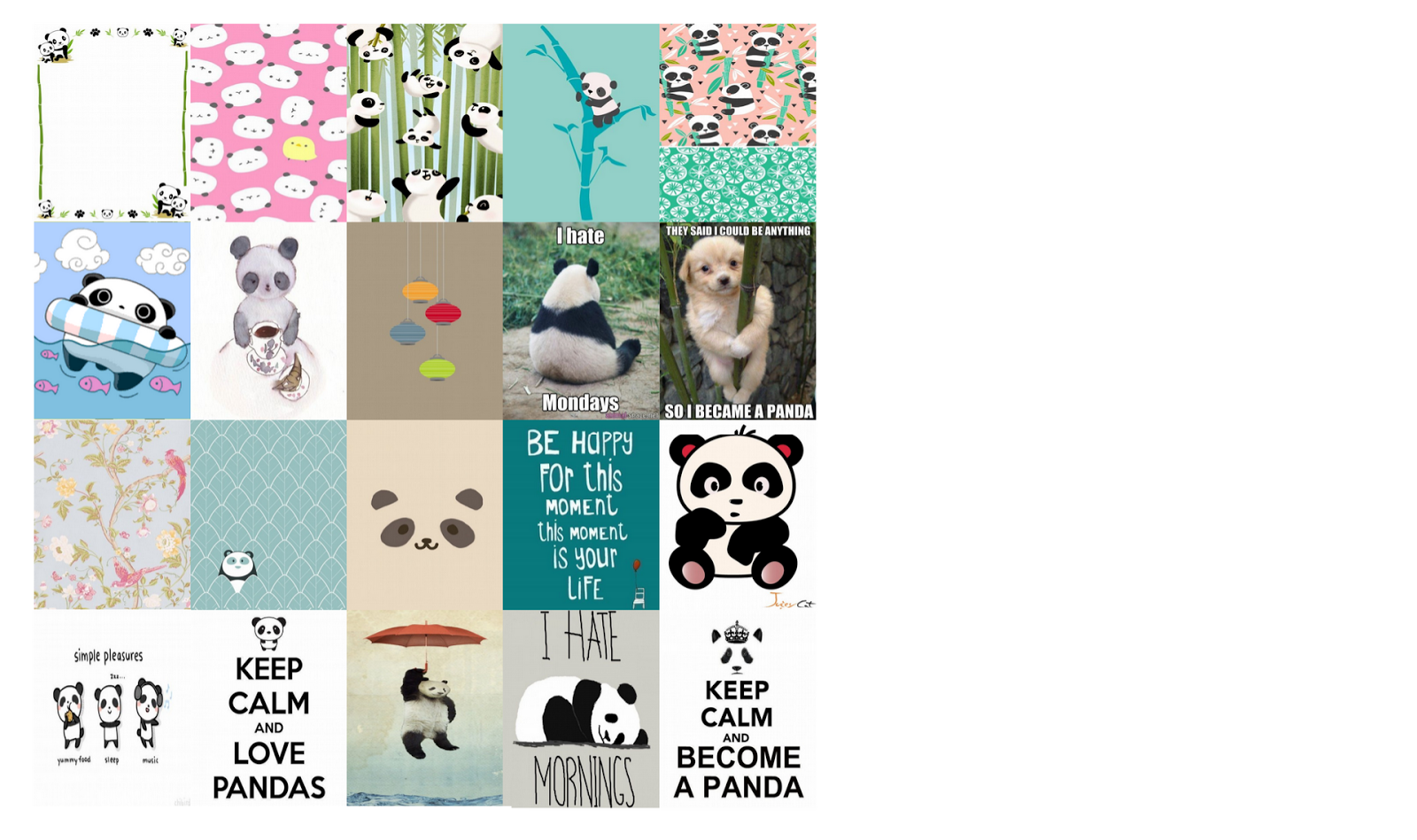 Laughing Without An Accent: PANDA BEAR FREE PLANNER