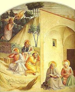 Semaine Sainte - DPTN - Le jardin des Oliviers - Jésus