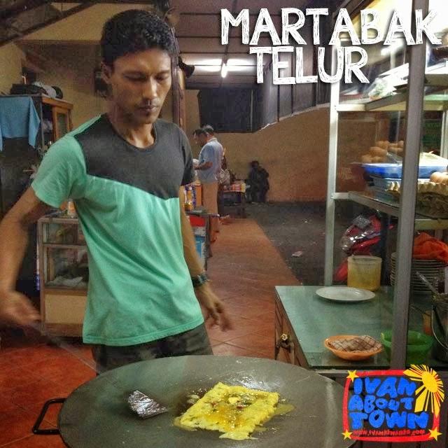 Martabak Telur in Medan, Indonesia