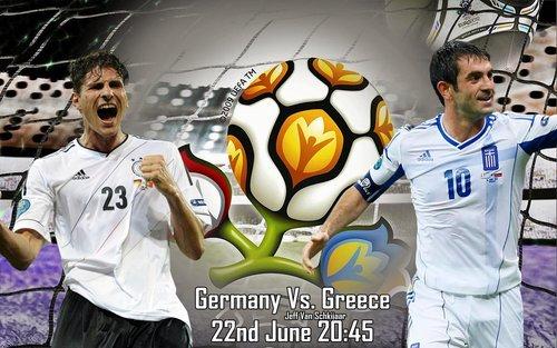 Keputusan Perlawanan Germany Vs Greece | Suku Akhir Euro 2012