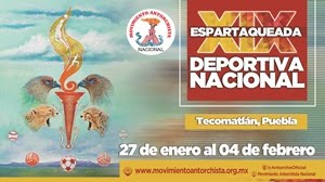 Convoca Antorcha a su Espartaqueada Deportiva 2018; reunirá a más de 20 mil deportistas