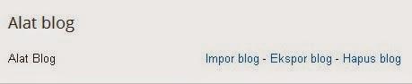 cara backup artikel blog yang sudah diposting, cara menduplikat semua hasil postingan pada blog, cara backup artikel blog, cara backup postingan blog  endolita.blogspot.com