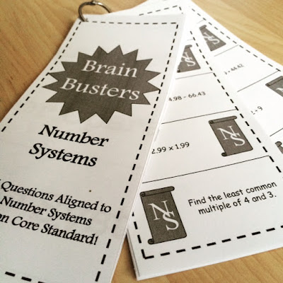 https://www.teacherspayteachers.com/Product/Math-Brain-Busters-Number-Systems-1636799