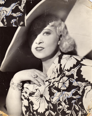 Mae West publicity still, 1934
