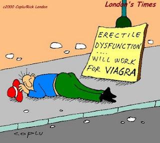 viagra disfunzione erettile impotenza vignetta