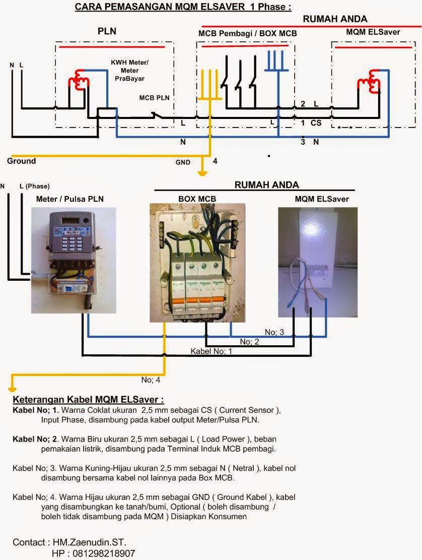 Mqm total sver gbr no 3 cara pemasangan mqm elsaver 3 phase asfbconference2016 Gallery