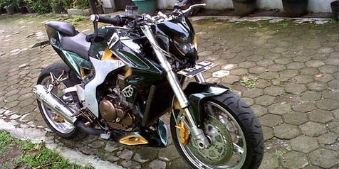 Modifikasi Scorpio Z