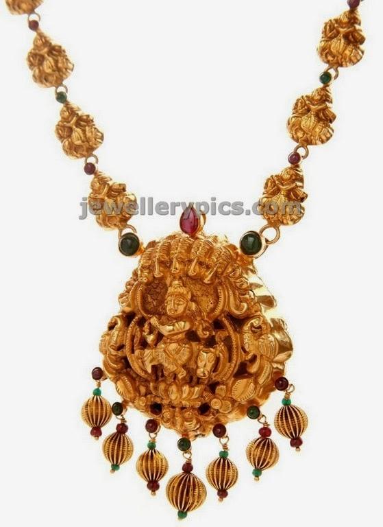 rasha krishna temple jewellery haram