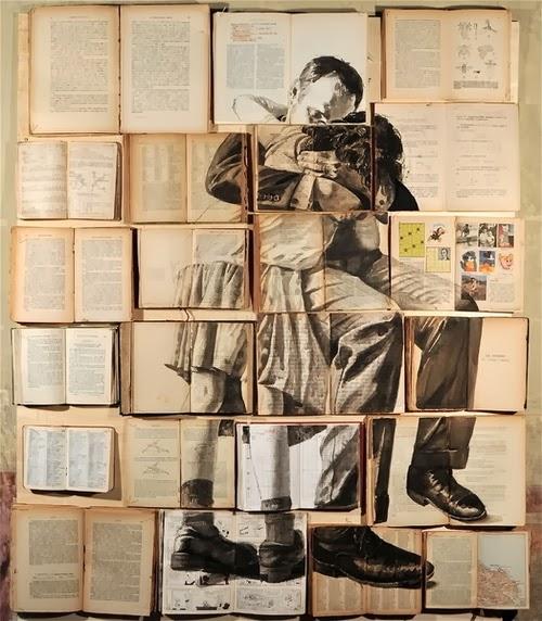 01-Russian-Artist-Ekaterina-Panikanova-Book-Page-Drawings-www-designstack-co