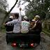 Relawan FPI Masih Bertahan Di Sekitar Gunung Kelud