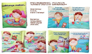 buku bantal by SeButik Kids