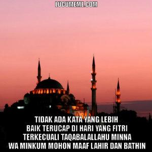 DP BBM Ucapan Idul Fitri