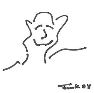 Zeichnung Bild / painting picture : grins / grin