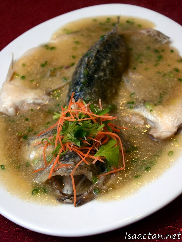 Steamed Mandarin Fish with Ginger Sauce