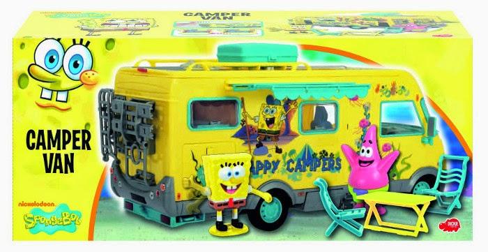 JUGUETES - BOB ESPONJA - Caravana  Producto Oficial Serie Televisión | Simba 3084134 | A partir de 3 años