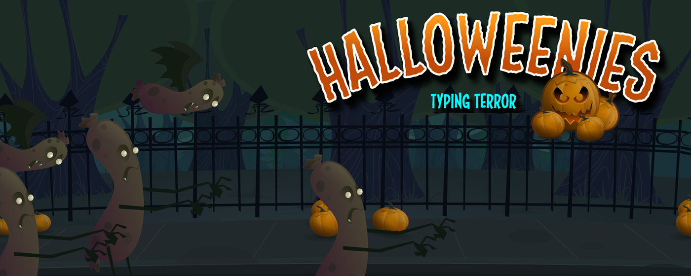 halloweenies halloween flash typing game