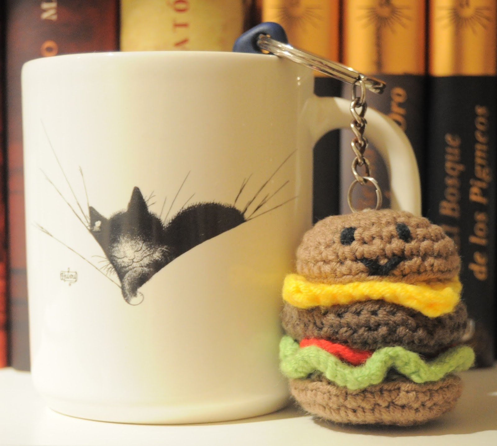La vaquita de lanita: Mini hamburguesa