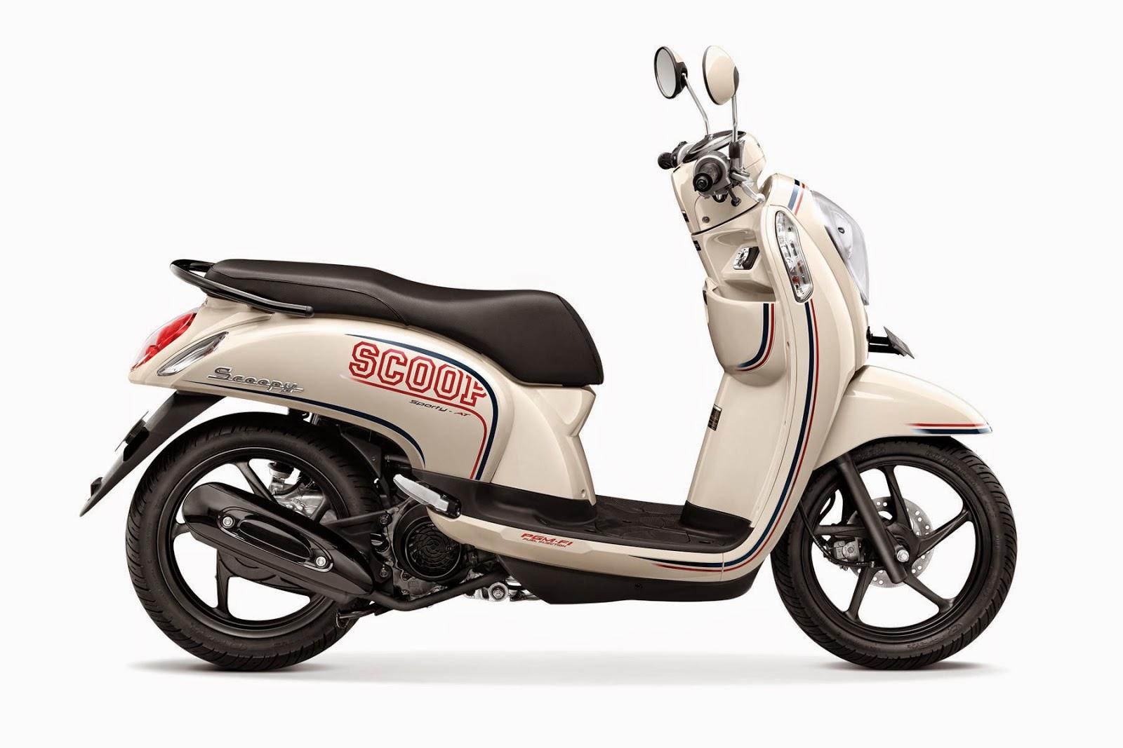 Kumpulan Harga Sepeda Motor Trail: Harga Honda New Scoopy